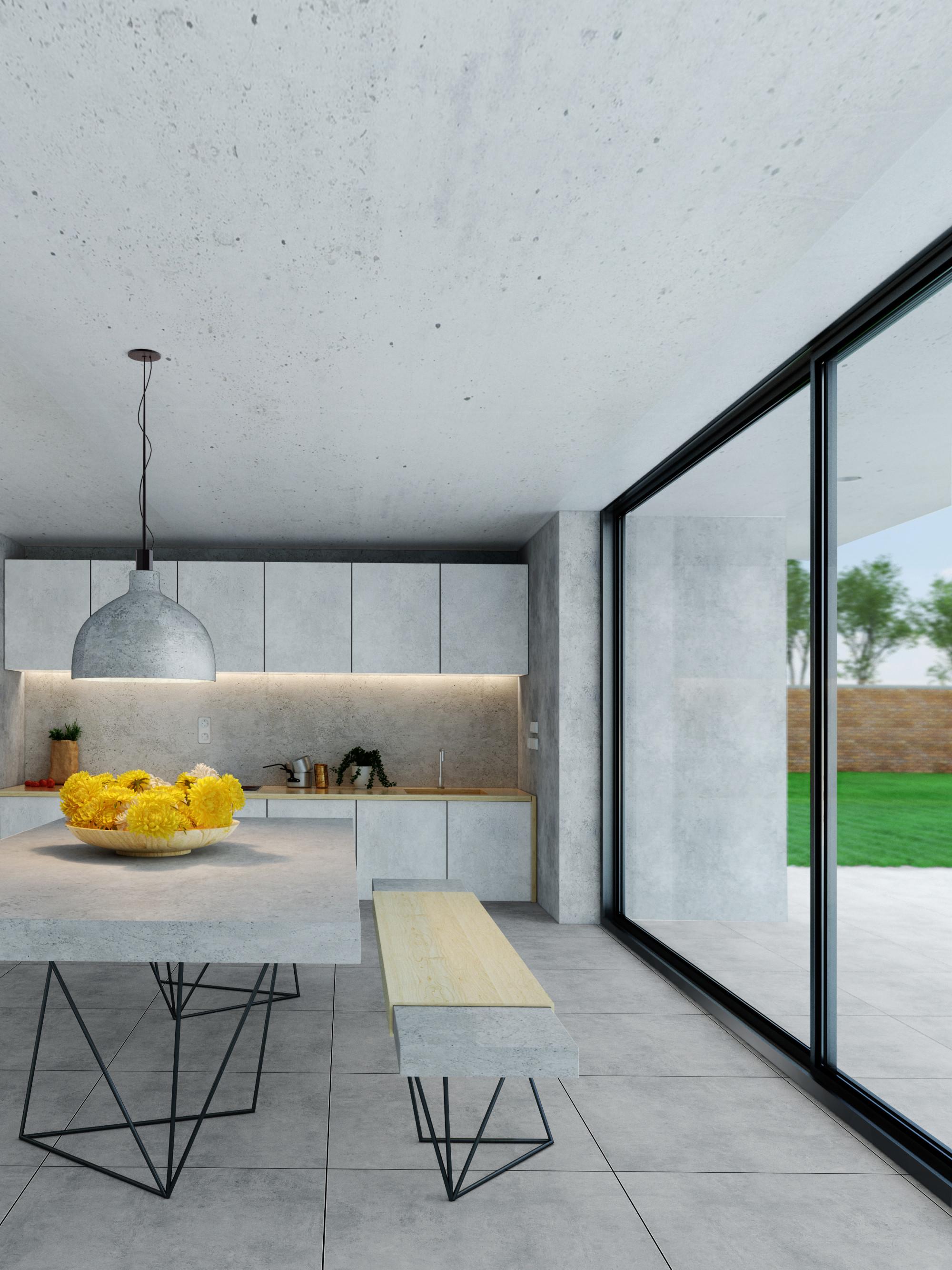XXL Cemento Silver Indoor Floor Tile - 800x800(mm)