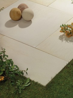 Arabian Sand Textured & Sawn Sandstone Paving - Patio Pack