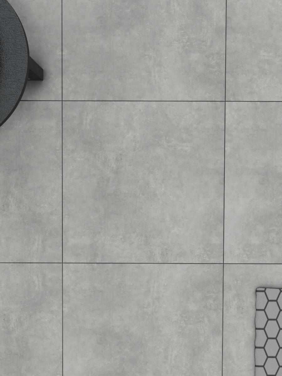 XXXL Eclipse Silver Indoor Floor Tile - 1000x1000(mm)