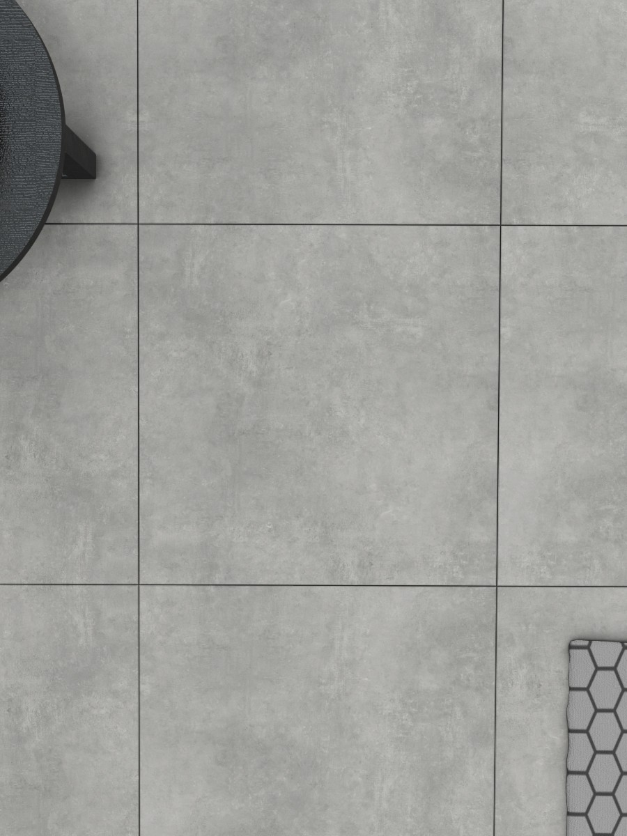 Eclipse Silver King Size Indoor Wall & Floor Tile - 1200x600(mm)