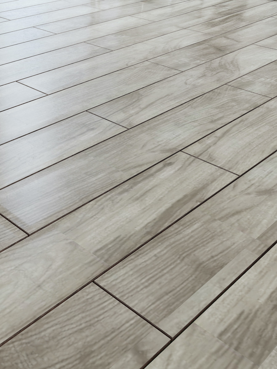 Atelier Teak Wood Effect Herringbone - 900x150(mm)