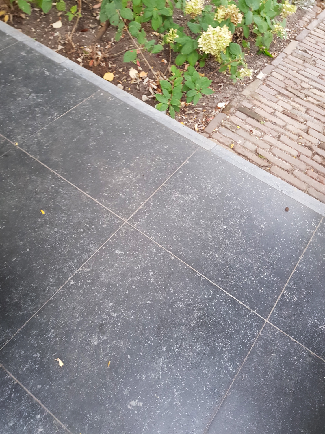 Belgium Black Virtue Vitrified Porcelain Paving Slabs - 600x600 Pack