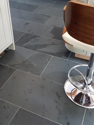 Brazil Black Slate Tiles - 800x400x10mm Tiles