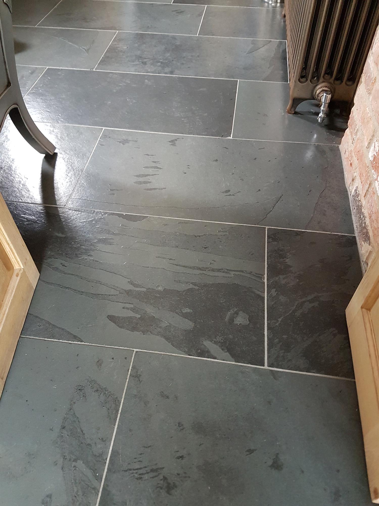Black Slate Slabs : Brazilian black slate paving slabs