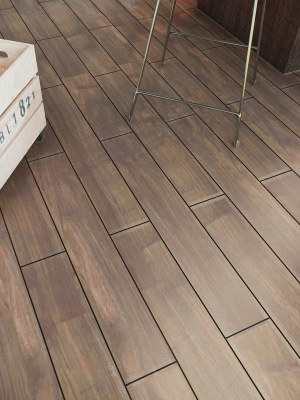 Atelier Walnut Wood Effect Floor Tile- 900x150(mm)
