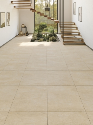 XXL Cemento Sand Indoor Floor Tile - 800x800(mm)