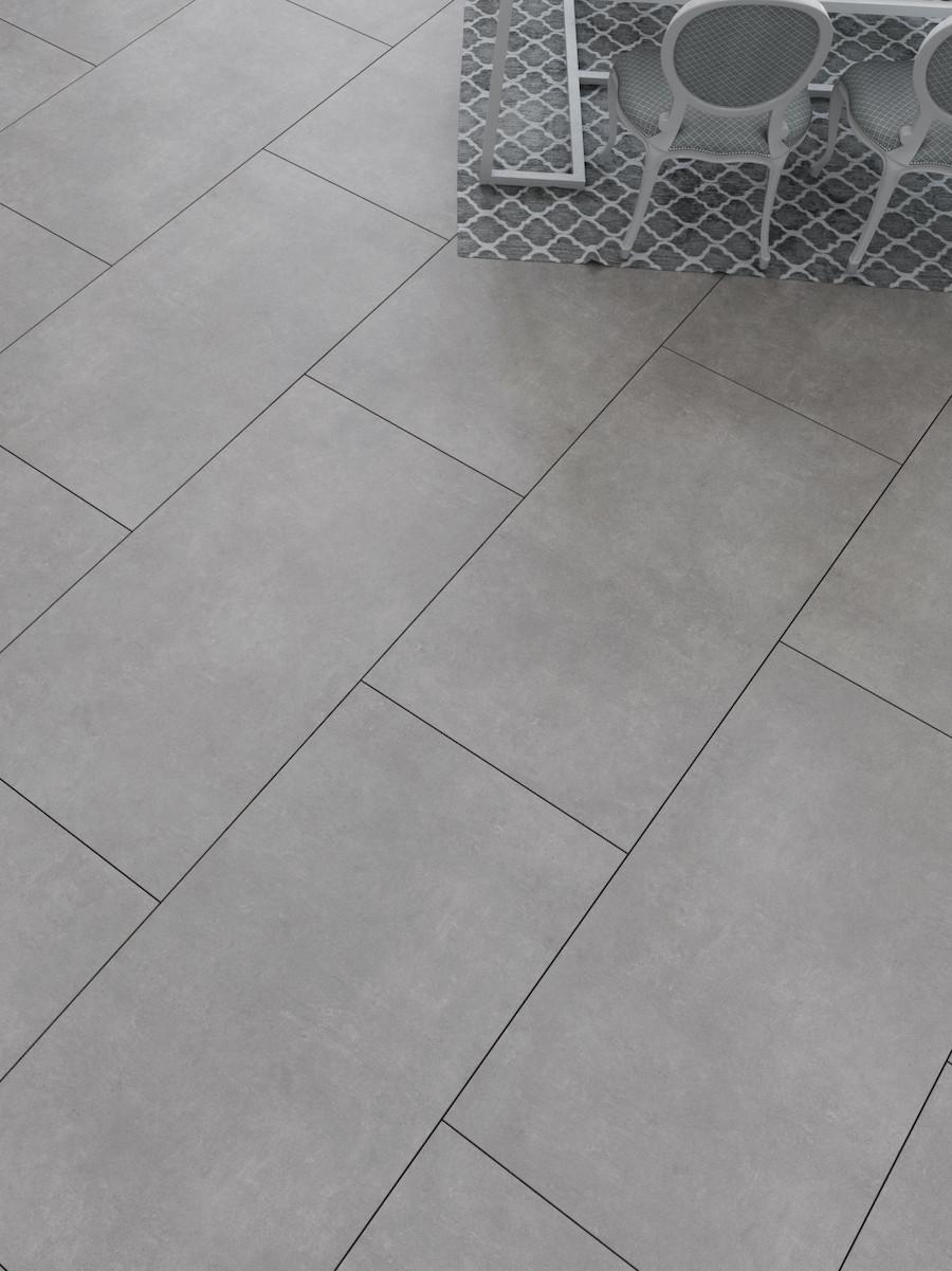 Eclipse Anthracite Indoor Wall & Floor Tile - 1200x600(mm)