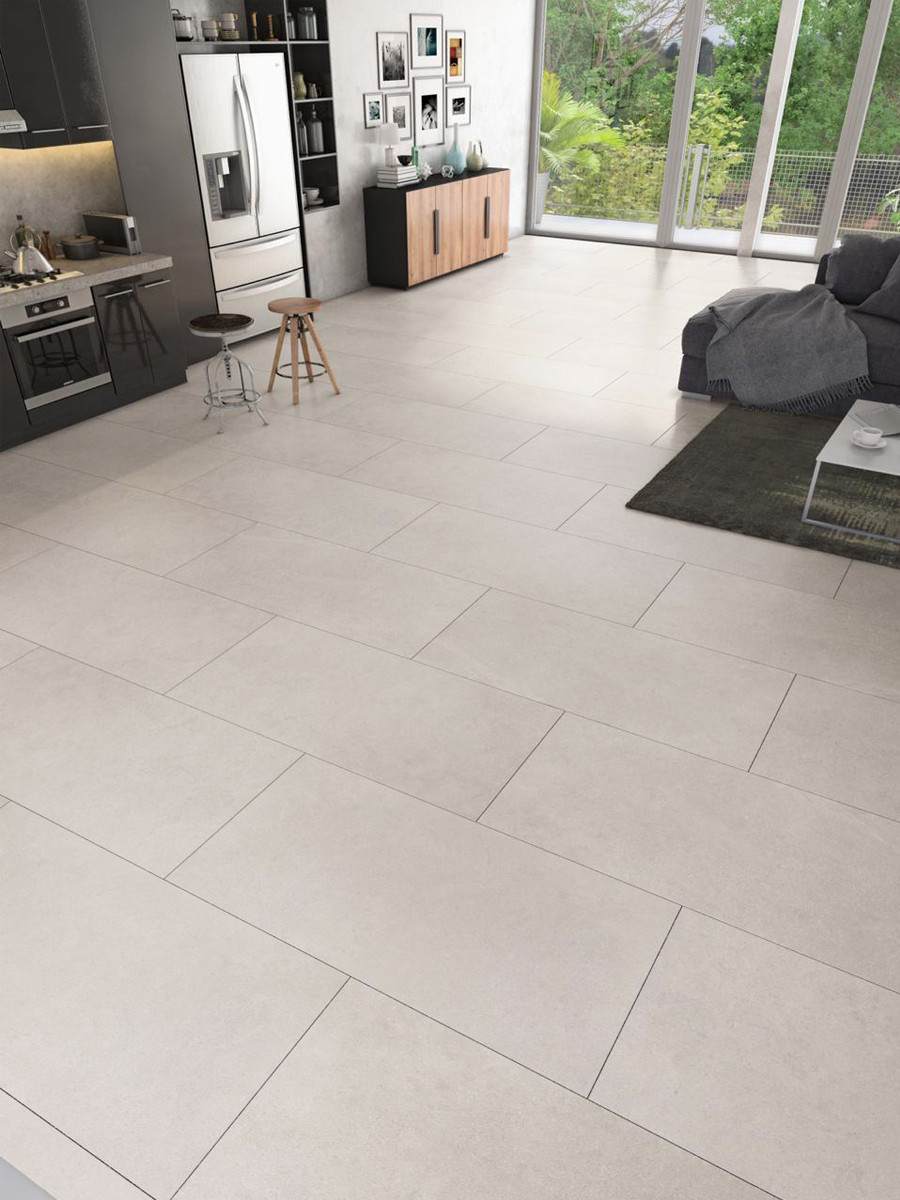 Eclipse Off White Wall & Floor Tile - 1200x600(mm)