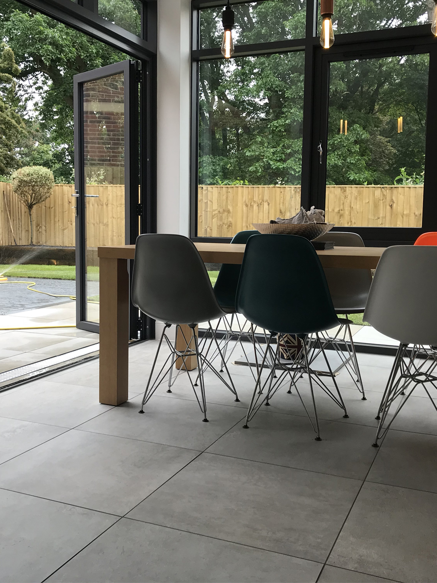 Eclipse Silver Grey Indoor Floor Tile - 600x600(mm)