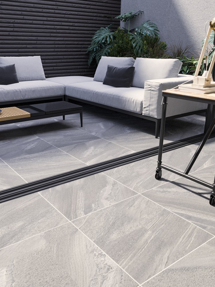 Esparada Grigio Indoor Wall & Floor Tile - 600x600(mm)