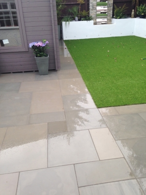 Harvest Smooth & Sawn Sandstone Paving - Patio Pack