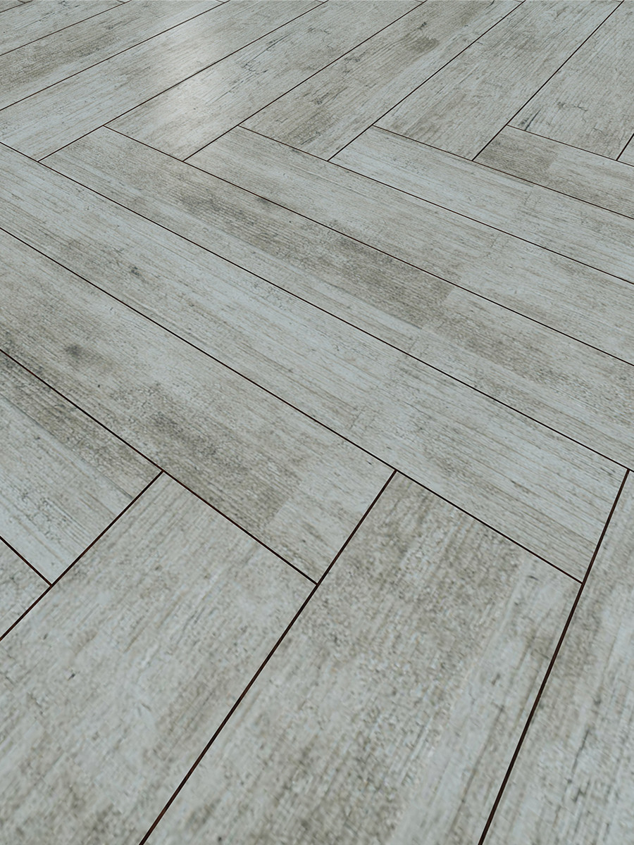 Lata Gris Wood Effect Floor Tile - 900x150(mm)
