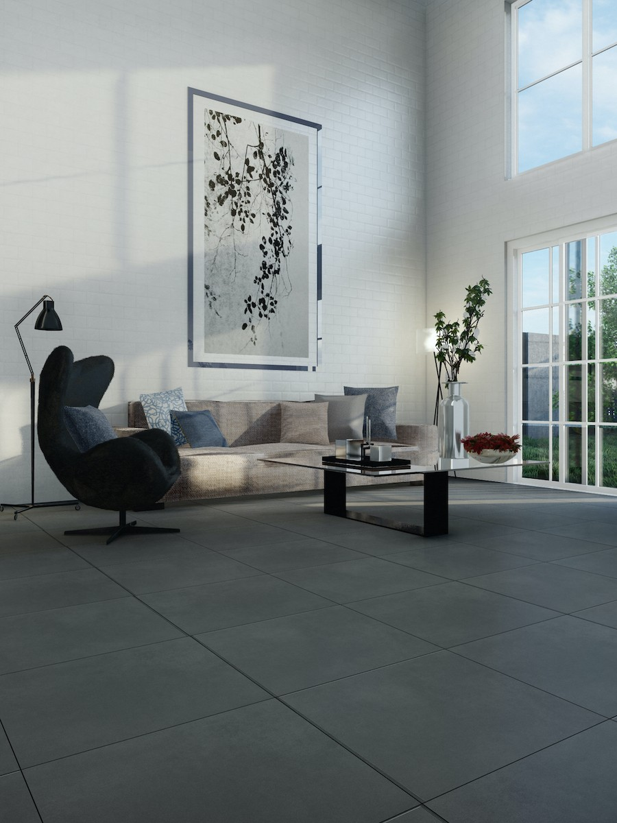 Eclipse Ash Indoor Wall & Floor Tile - 594x594(mm)