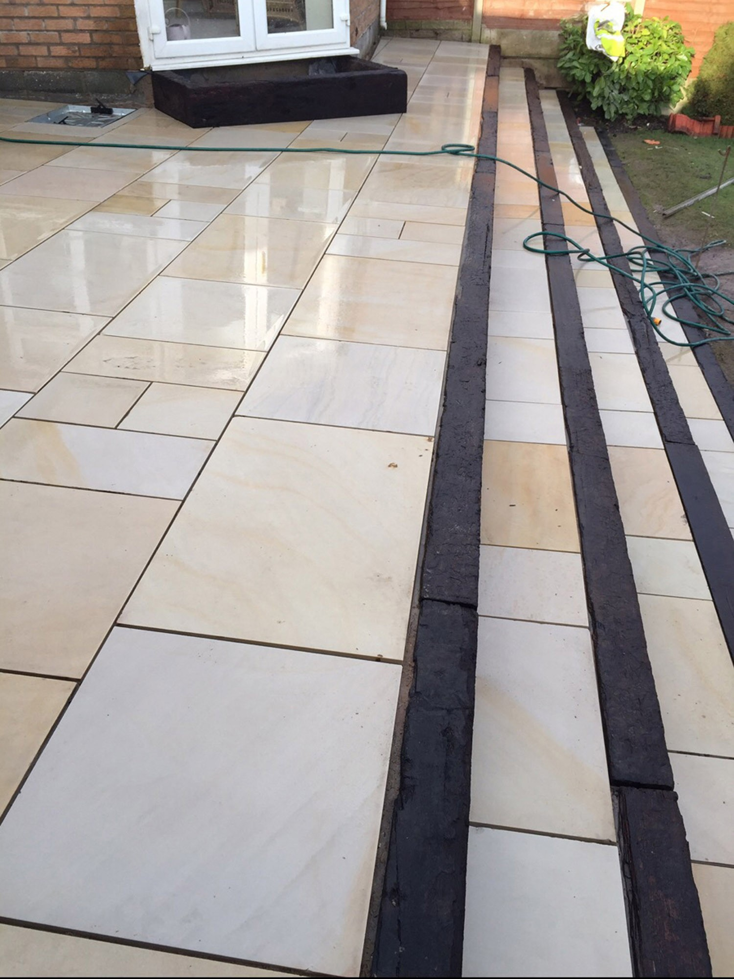 Beige Sawn Sandstone Paving Slabs Sawn Amp Honed Paving Slabs