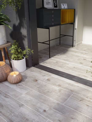 Natur Wood Virtue Vitrified Porcelain Paving Slabs - 1200x300 Pack