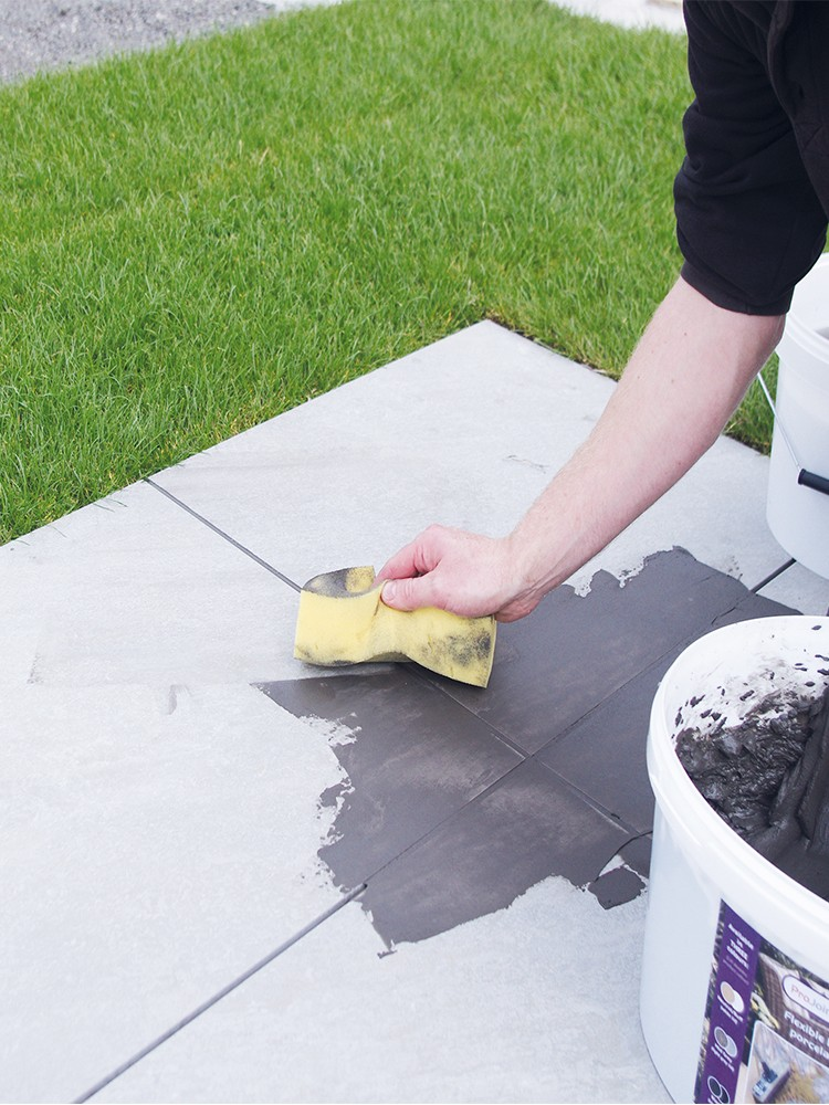 Pro Joint Porcelain Grout Flexible & High Strength Porcelain Paving Grout - 20kg Tub (Basalt)