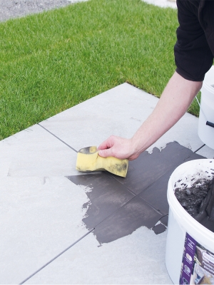Pro Joint Porcelain Grout Flexible & High Strength Porcelain Paving Grout - 20kg Tub (Mid-Grey)