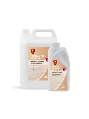 LTP Porcelain Tile Protector For Outdoor Porcelain Paving Tiles - 1 Litre