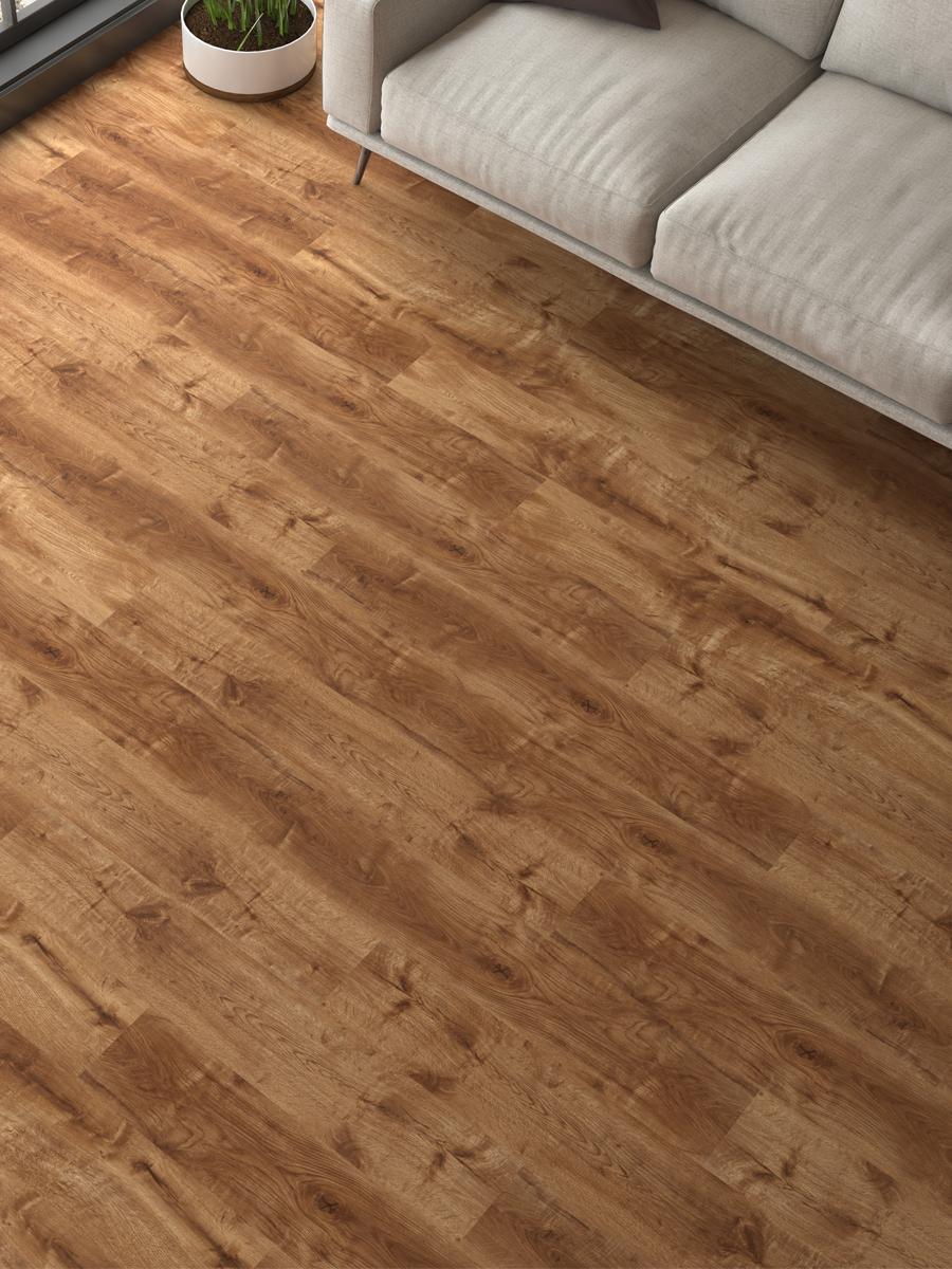 Cherry Wood Click Laminate Flooring- 1200x191x8(mm)