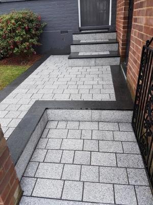 Light Grey Sawn Driveway Granite Slabs - Driveway Slabs