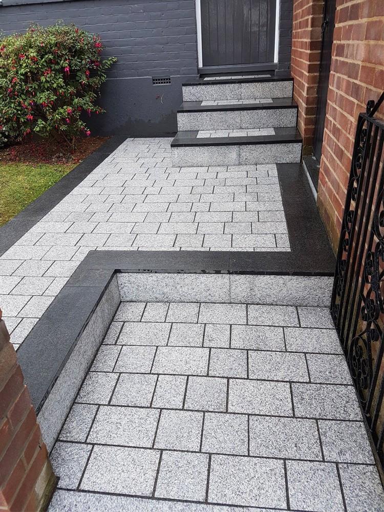 Popular Light Grey Sawn Driveway Granite Setts Block Paving - Fresh driveway paving stones Beautiful