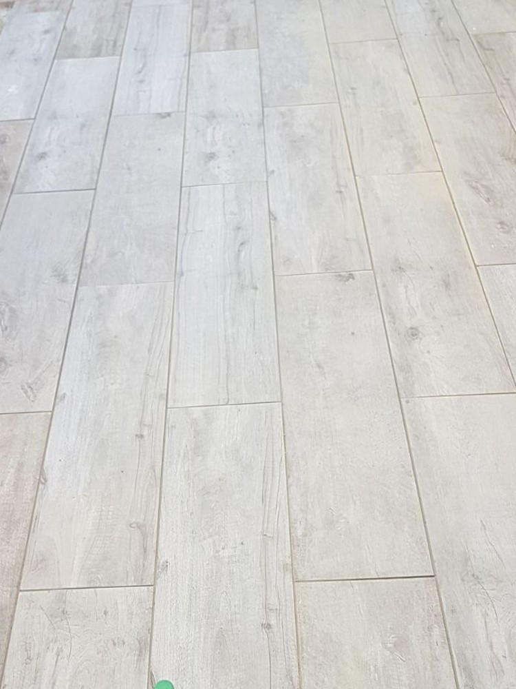 Silver Birch Wood Virtue Vitrified Porcelain Paving Slabs - 1200x300 Pack