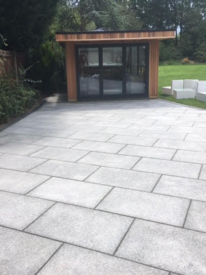 Granite Paving Slabs Mid Grey Granite Granite For Patio