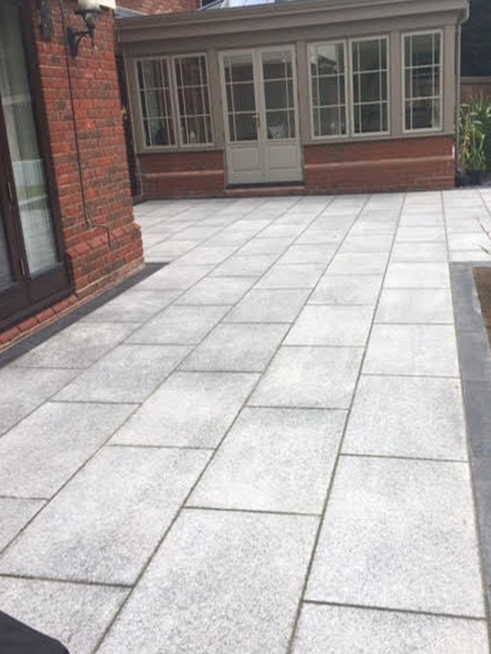 Granite Paving Slabs Mid Grey Granite Granite For Patio