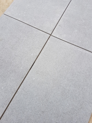 Mid Grey Virtue Vitrified Porcelain Paving Slabs - 900x600 Pack