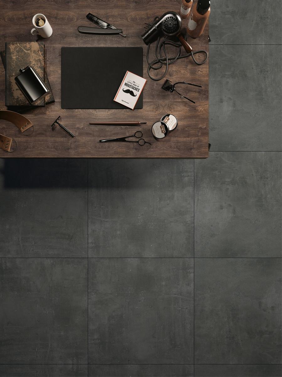 XXL Stone Graphite Indoor Wall & Floor Tile - 800x800(mm)
