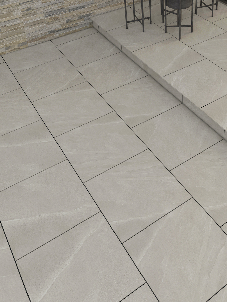 Sunstone Freya Vitrified Porcelain Paving Slabs - 600x600 Pack