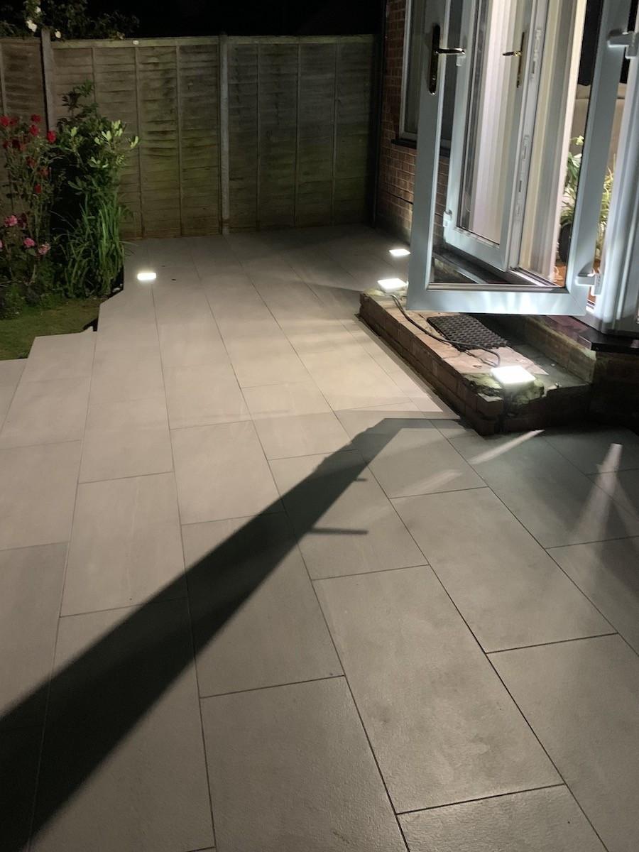 Sunstone Loki Vitrified Porcelain Paving slabs - 1200x600 Pack