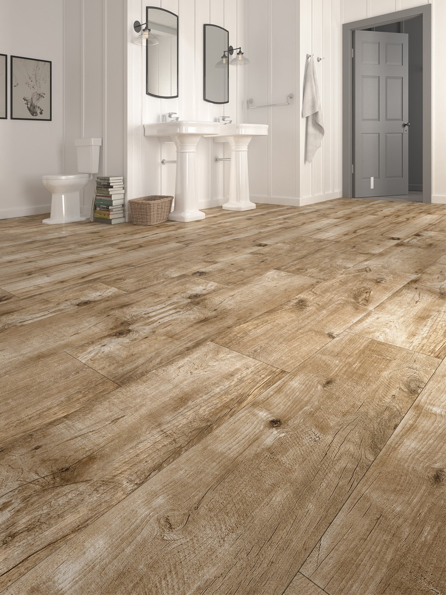 Vintage Wood Effect Indoor Floor Tile - 1200x300(mm)