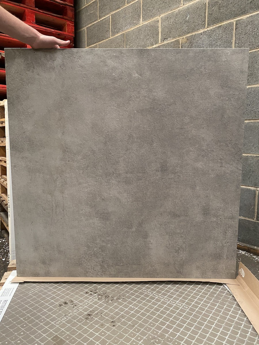 Volcano Grey XXL Outdoor Porcelain Paving Slabs - 1000x1000 Pack