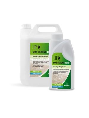 LTP Mattstone Impregnating Waterbased Sealer For Natural Stone Slabs / Tiles - 5 Litres